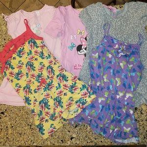 Other - BUNDLED toddler girl summer dresses/ romper. Sz 4